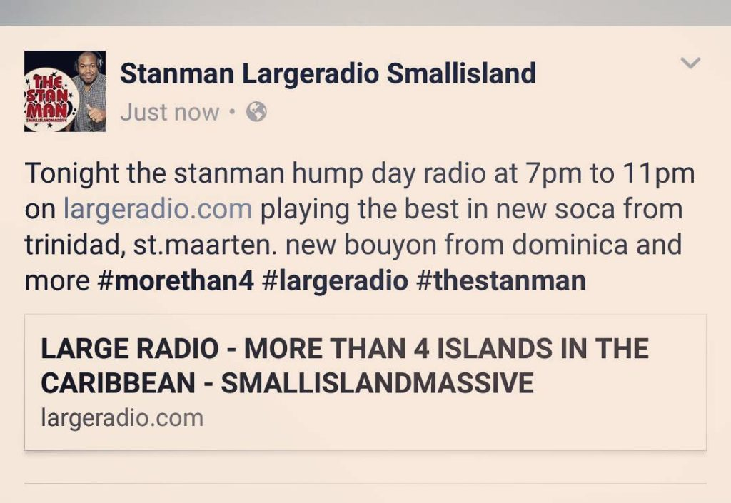 Tonight the stanman hump day radio at 7pm to 11pmhellip
