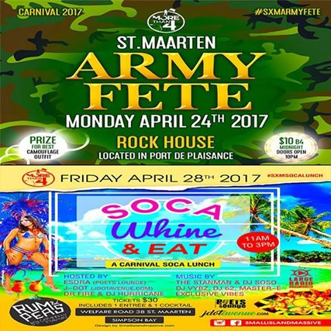 Next week the morethan4 family invades stmaarten carnival sxmcarnival