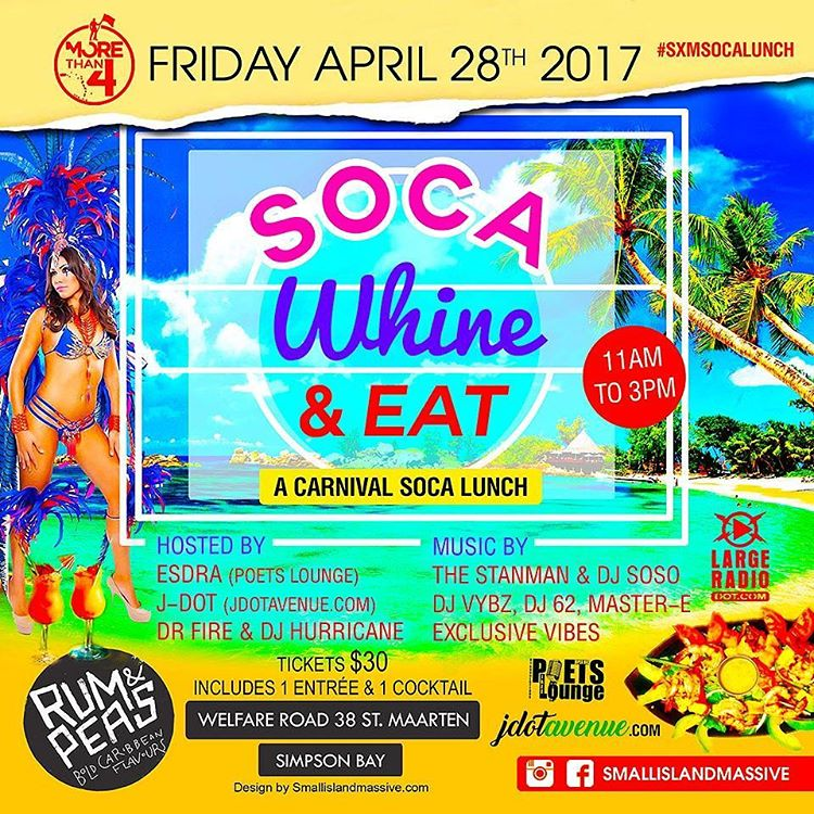 This Friday April 28th 2017  morethan4 presents SOCA WHINEhellip