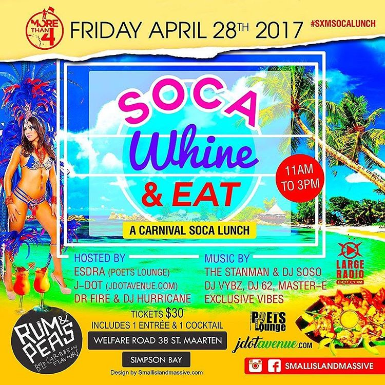 This Friday stmaarten carnival soca lunch day fete at rumhellip