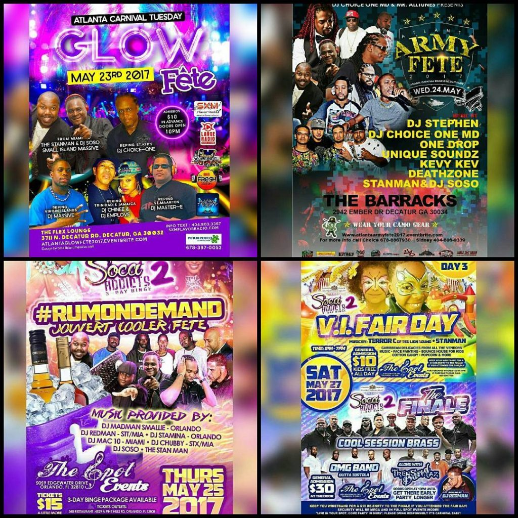 Atlanta and orlando get ready for carnival madness!!! morethan4 carnivalhellip