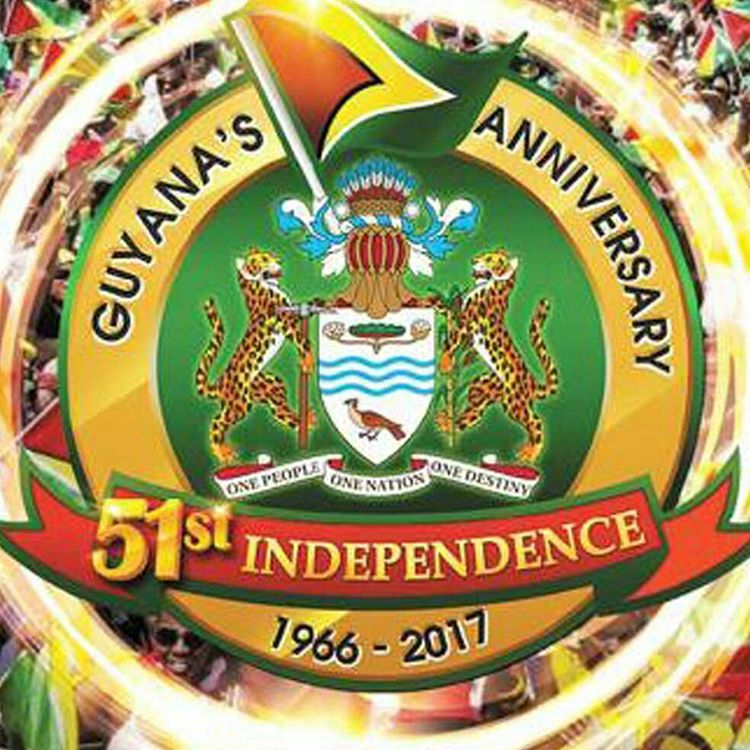 Happy Independence Guyana massive morethan4 guyana independence guyanese