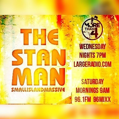 The stanman live right on wwwlargeradiocom
