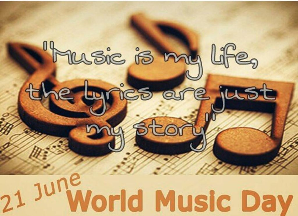 World music day Fete de la musique worldmusicday morethan4 largeradiohellip