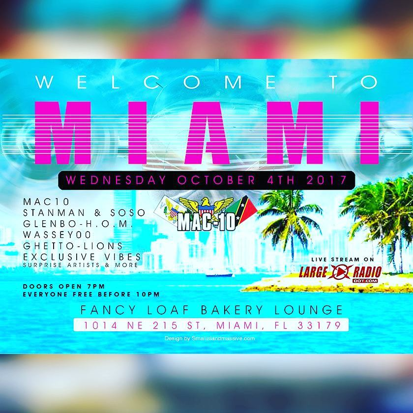 Welcome to miami carnival Wednesday October 4th 2017 at fancyhellip