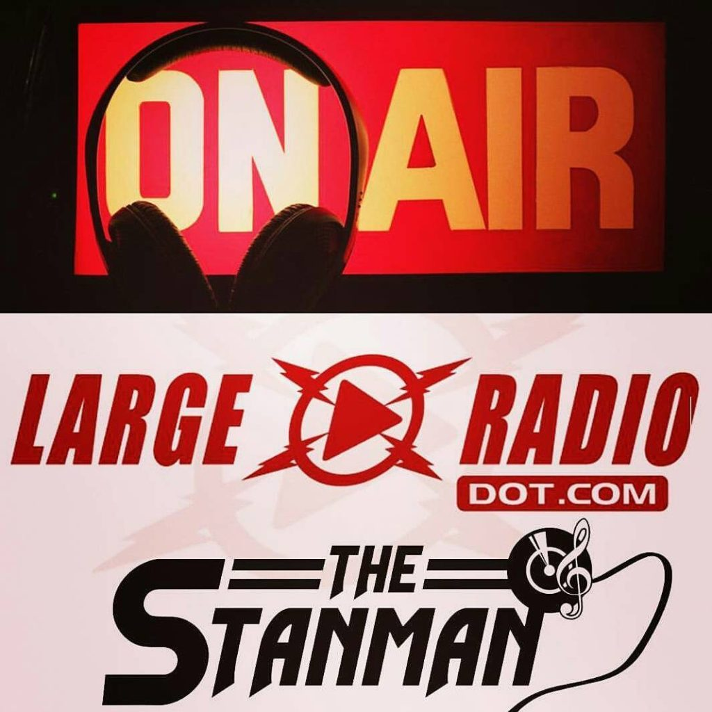 the stanman live on the RIGHT NOW wwwlargeradiocom or fromhellip