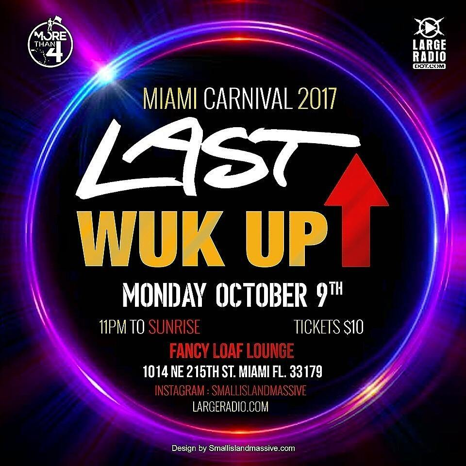 TONIGHT Miami carnival Monday night Only one place to behellip