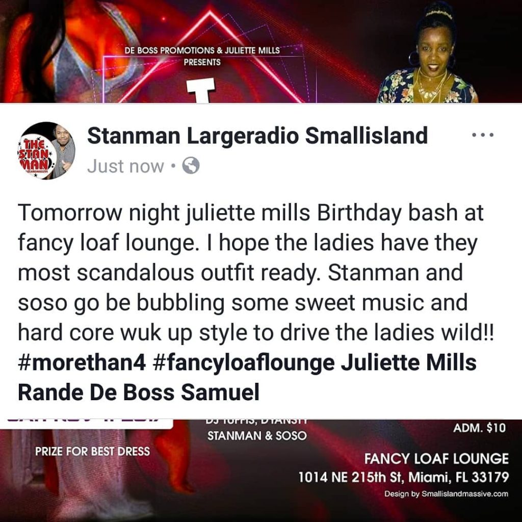 Tomorrow night juliette mills Birthday bash at fancy loaf loungehellip
