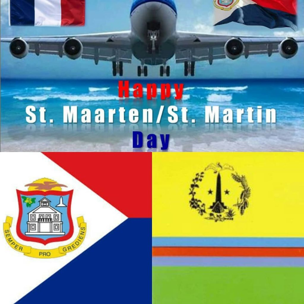 Happy St MaartenSt Martin Day 2017 Love Unity Peace andhellip