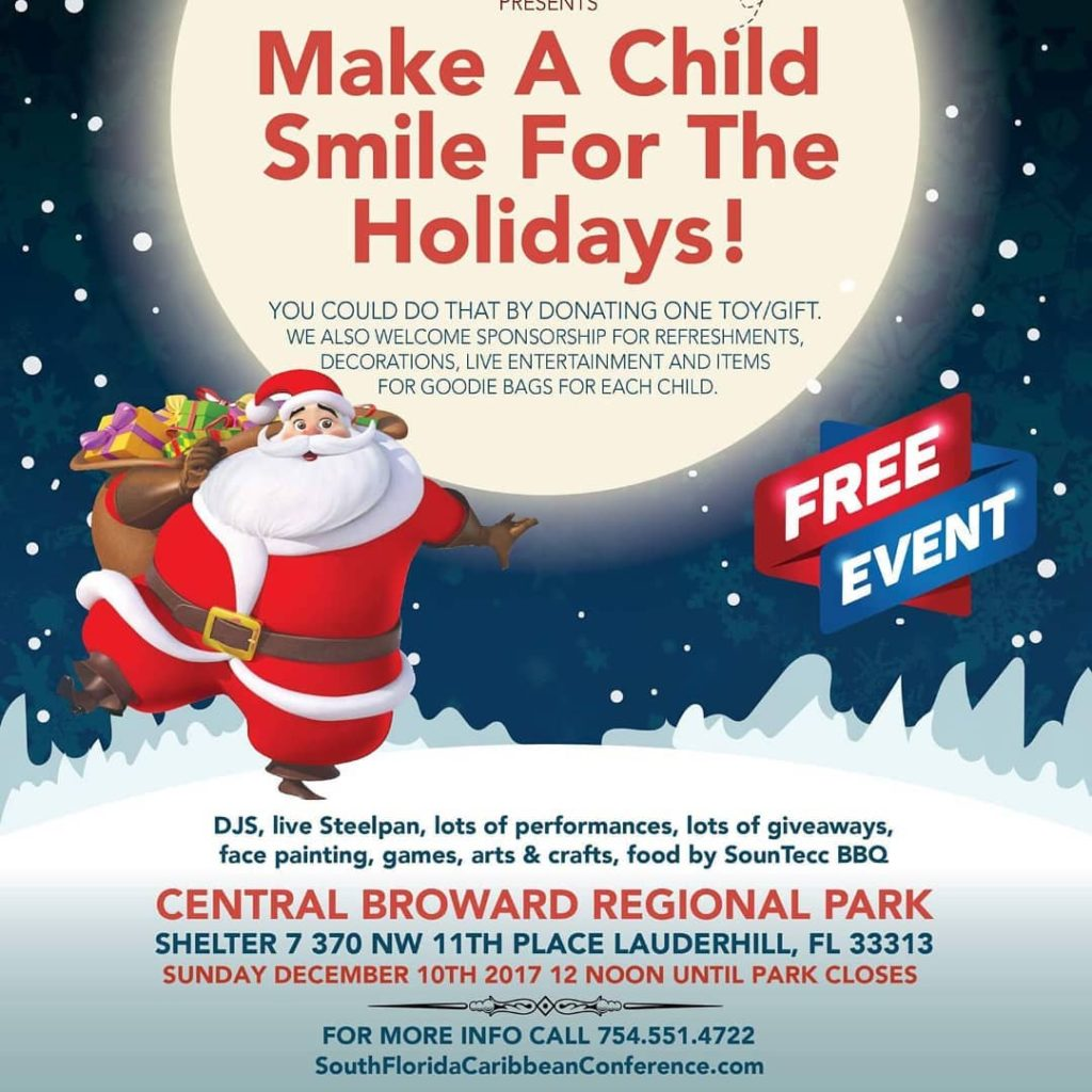 Sfcc Sfcc Presents Make a Child Smile for the Holidayshellip