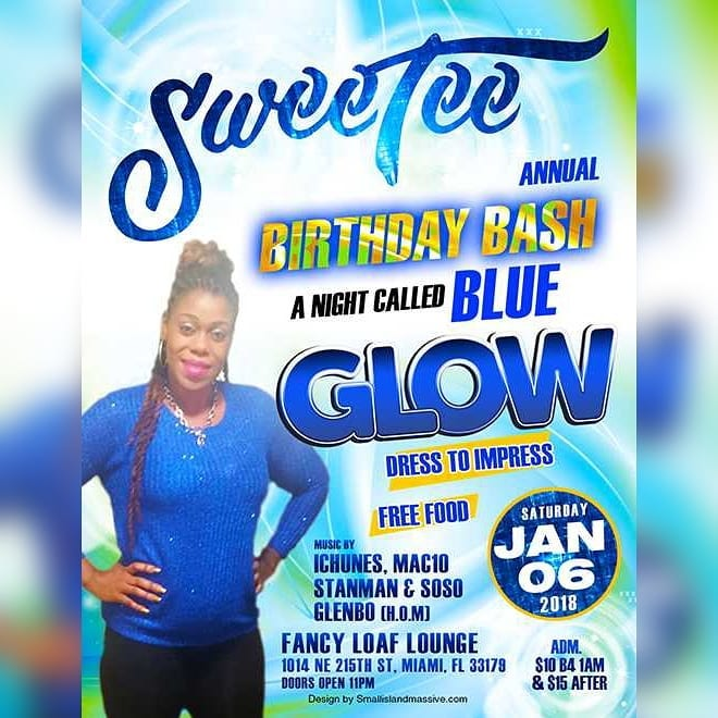 Sweetee birthday bash 2018 at fancy loaf lounge on Januaryhellip