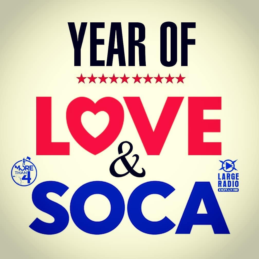 We declare 2018 the Year Of LOVE amp SOCA largeradiohellip