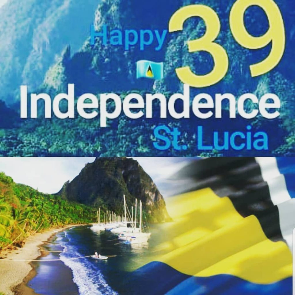 Happy Independence stlucia massive morethan4 independence stlucia slu lucian luciahellip